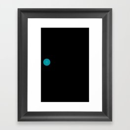 I'm with a nipple toucher. Framed Art Print