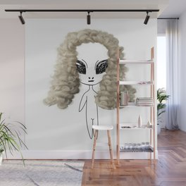 Judy the Judge Wall Mural