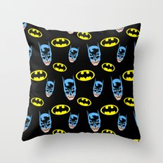 Bat Pattern Throw Pillow