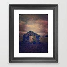 Twilight by the Sea Framed Art Print