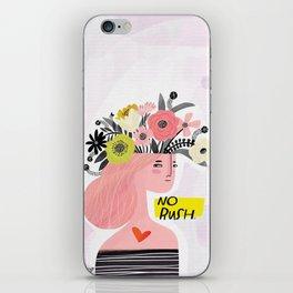 Crabby Dog: No Rush iPhone Skin