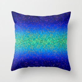Glitter Star Dust G247 Throw Pillow