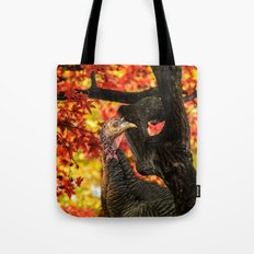 HAPPY THANKSGIVING   FROM WILD TURKEY Tote Bag