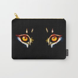 Lion Eyes Carry-All Pouch