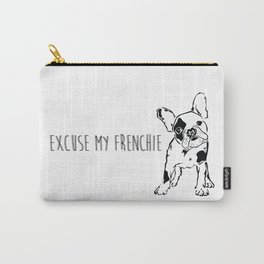 Excuse My Frenchie Carry-All Pouch