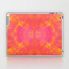 Pink and Orange Stripes Laptop & iPad Skin