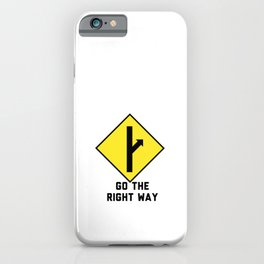 MGTOW - Go The Right Way iPhone Case