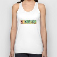 tv Tank Tops featuring TV by Bakal Evgeny