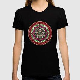 Garden Leaves Mandala T-shirt