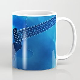 Guitar Blues Coffee Mug