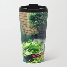 Margaret's Fall Garden Metal Travel Mug
