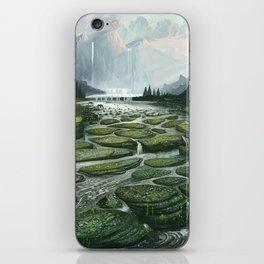 The Great Waterfall iPhone Skin