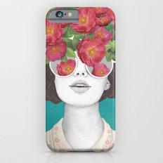 The optimist // rose tinted glasses iPhone 6 Slim Case