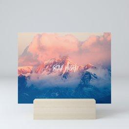 Stay Rocky Mountain High Mini Art Print