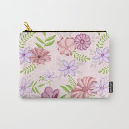 Flowers dancing around Carry-All Pouch