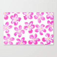 Posey Power - Fuxia Multi Canvas Print