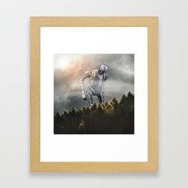 K2SO Framed Art Print