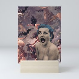 Lovers in the Darkness Mini Art Print