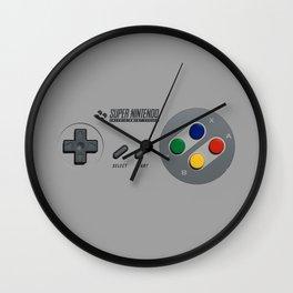 Classic Nintendo Controller Wall Clock
