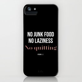 No Quitting! iPhone Case