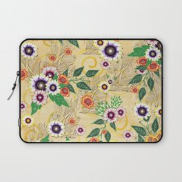 Psychedelic flowers  Laptop Sleeve