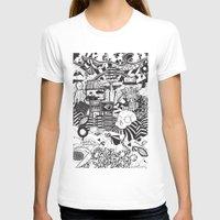 doughnut T-shirts featuring Doughnut City by Adam Travers