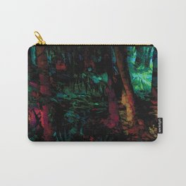Flora Celeste Jade Forest Carry-All Pouch