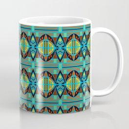 African Tribal Motif Pattern Coffee Mug