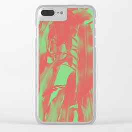 Exotic Duotone Clear iPhone Case