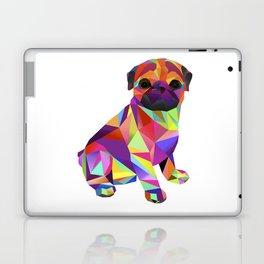 Pug Dog Molly Mops Laptop & iPad Skin