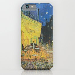 Cafe Terrace at Night,  Vincent van Gogh iPhone Case