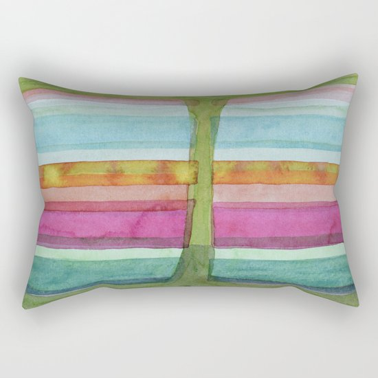 Two Glasses of Water Rectangular Pillow