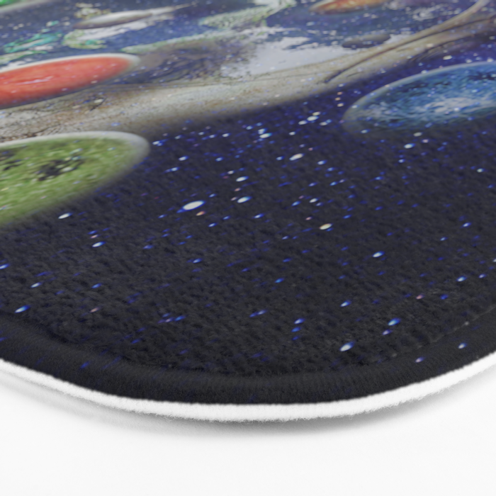 Orbiting Bath Mat