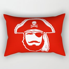 Who wants to be a Pirate?!? Rectangular Pillow