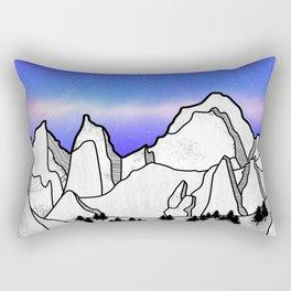 Mount Whitney Rectangular Pillow