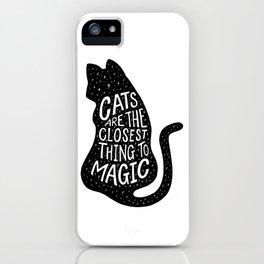 Cat Magic iPhone Case