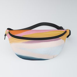 Let Go - no.36 Shapes and Layers Fanny Pack