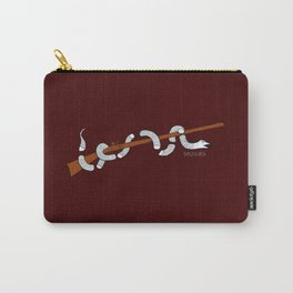Join or Die - Maroon Carry-All Pouch
