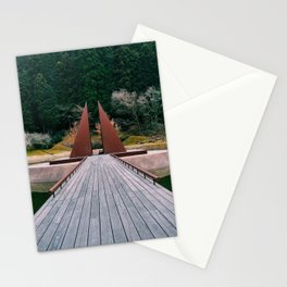 Pyramid Island Stationery Cards