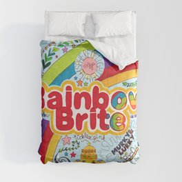 Rainbow Brite Comforters