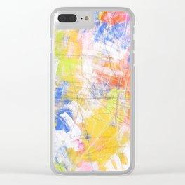 nuru #97 Clear iPhone Case