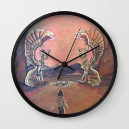 Never Ending Story: The Sphinx Gate Wall Clock