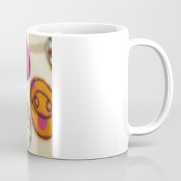 Embroidered Buttons Coffee Mug