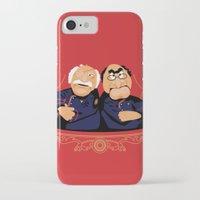 battlestar iPhone & iPod Cases featuring Frakking Awful by Matt Dearden