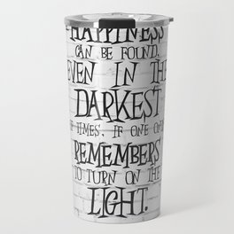 Albus Dumbledore Quote Inspirational Travel Mug