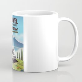 Go Travel - Visit mother natures wilderness. Coffee Mug