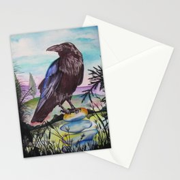Crow Cairn Stationery Cards