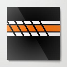 Team Colors 4...Orange Metal Print