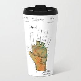Golf Glove Patent 1955 Travel Mug