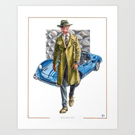 Luxury Man, Gentleman Zone special edition print Art Print